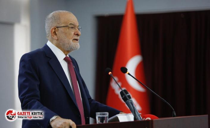 SAADET PARTİSİ GENEL BAŞKANI TEMEL KARAMOLLAOĞLU'NDAN BASIN AÇIKLAMASI