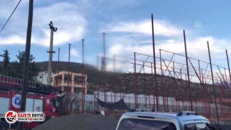 Serada çalışan işçi elektrik akımına kapılarak öldü
