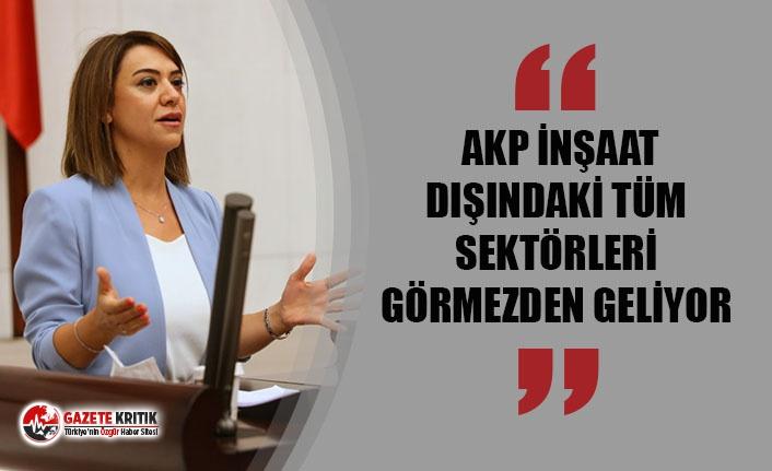 """TAŞCIER: """"AKP İNŞAAT DIŞINDAKİ TÜM SEKTÖRLERİ..."""
