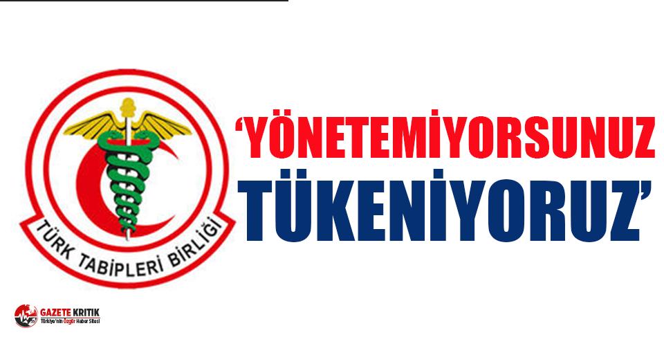 TTB tüm sağlık çalışanlarına eylem çağrısı!