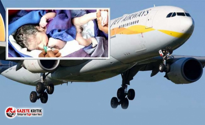 Uçakta doğan bebeğe ömür boyu ücretsiz bilet