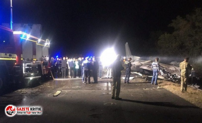 Ukrayna'daki uçak faciasında ölü sayısı 25'e yükseldi! İki kişi atlayarak kurtulmuş