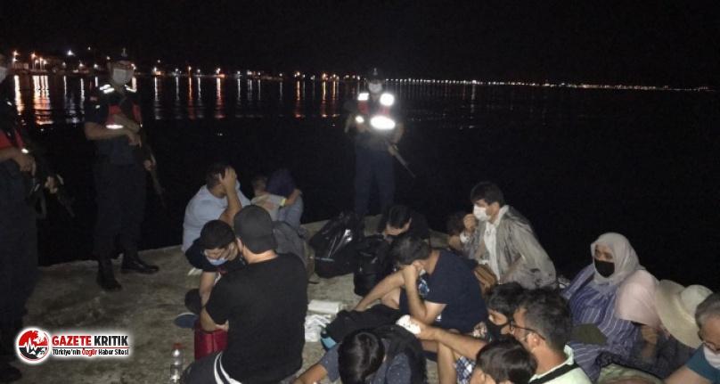 Yunanistan'a kaçarken yakalanan FETÖ şüphelilerinden...