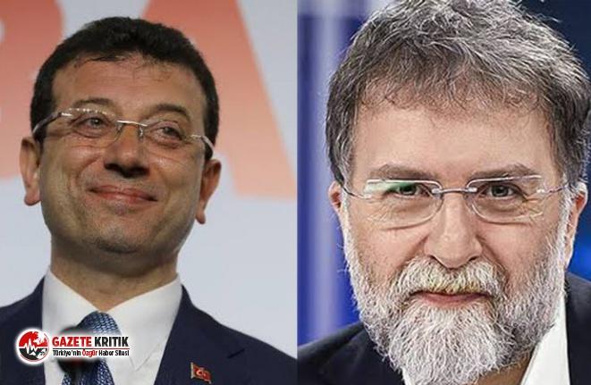 Ahmet Hakan'dan Ekrem İmamoğlu'na: Kesinlikle...