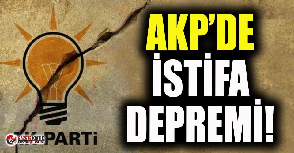 AKP'de istifa depremi! Çok sayıda üye CHP'ye geçti