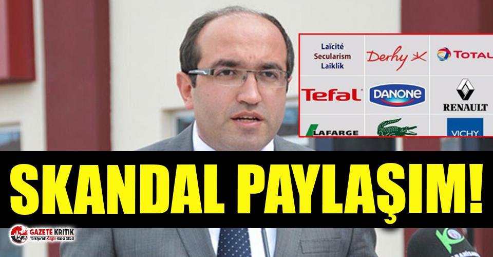 AKP'li belediye başkanından skandal paylaşım!