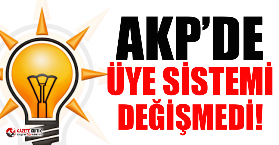 AKP'ye üye yapıldıklarını telefonlarına gelen...