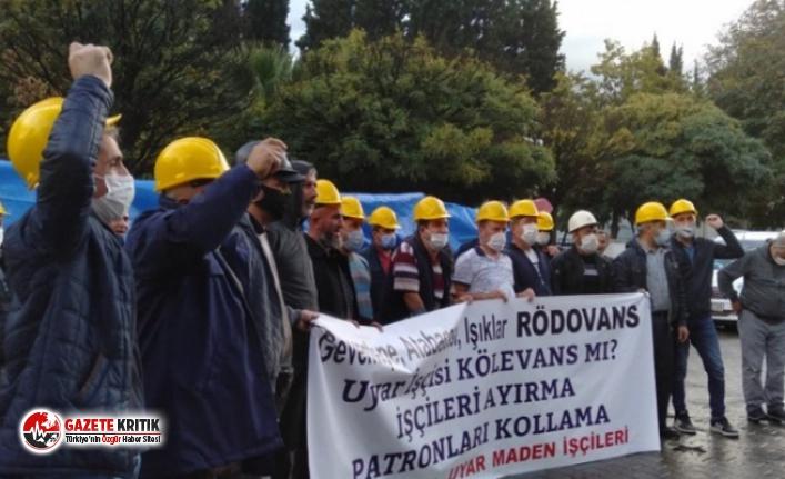 Ankara'ya yürümek isteyen Soma maden işçileri...