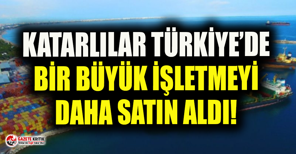 Antalya Limanı'nın işletmesini Katarlı şirket...