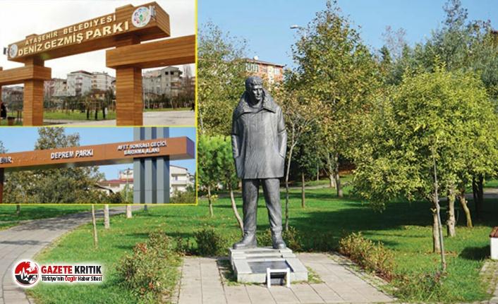 Ataşehir'de Deniz Gezmiş Parkı'nın adı...