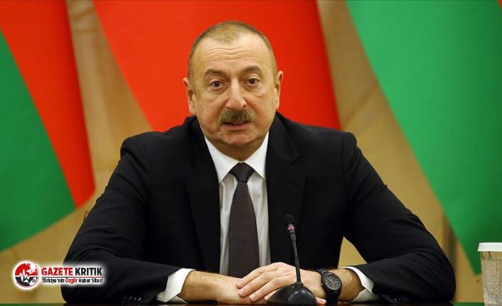 Azerbaycan Cumhurbaşkanı: Zengilan şehri bizimdir