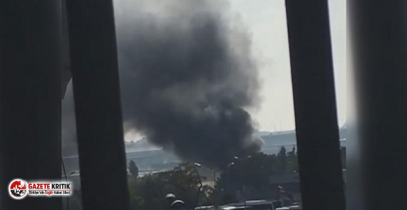 Bakırköy'de yangın