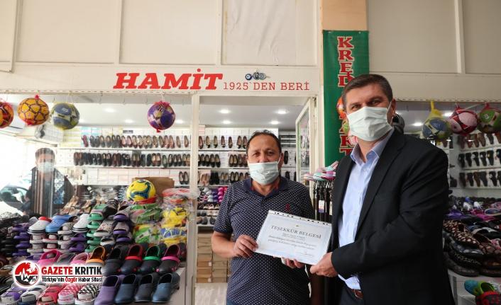Başkan Ercengiz'den Hayırsever Esnaflara Teşekkür Ziyareti