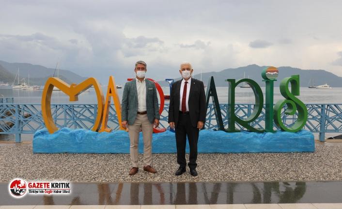 Başkan Osman Gürün Marmaris'i Ziyaret Etti