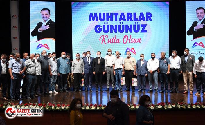 Başkan Seçer: 'Muhtarlar hizmet yolunda beraberlik yaptığımız dava arkadaşlarımız'
