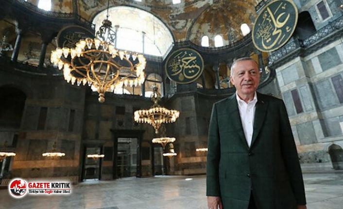 Camiye çevrilen Ayasofya'nın tuvaleti için 1 milyon TL harcandı
