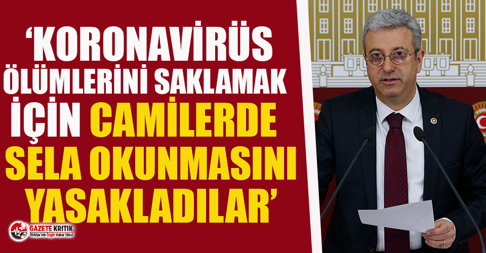 CHP'den şok iddia: Koronavirüs ölümlerini...