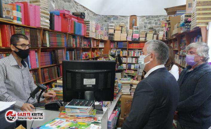 CHP Heyetinden esnaflara ziyaret:'' Esnaf kredi değil destek bekliyor''