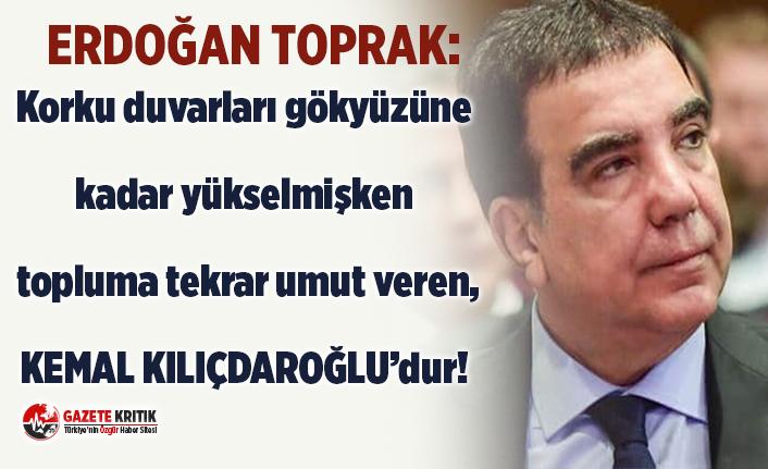 CHP İSTANBUL MİLLETVEKİLİ ERDOĞAN TOPRAK'TAN...
