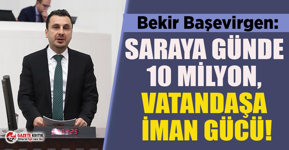 """CHP'li Başevirgen: """"Asgari Ücretin %25'i..."""