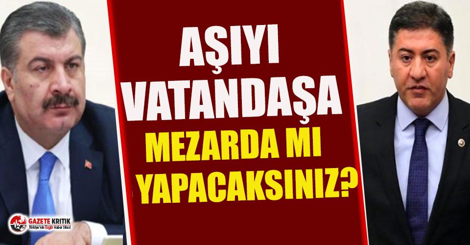 CHP'li Emir'den Sağlık Bakanı Koca'ya:...