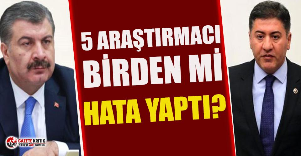 CHP'li Murat Emir'den Sağlık Bakanı Koca'ya...