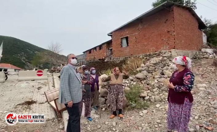 CHP'li Sertel: Eğridere'yi heyelan yuttu, devlet unuttu!