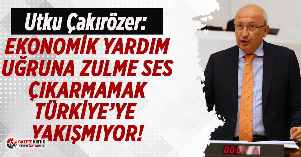 CHP'li Utku Çakırözer'den iktidara Uygur...