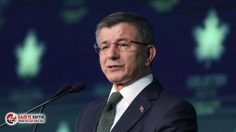 Davutoğlu'ndan, Devlet Bahçeli'ye 'siyasi...