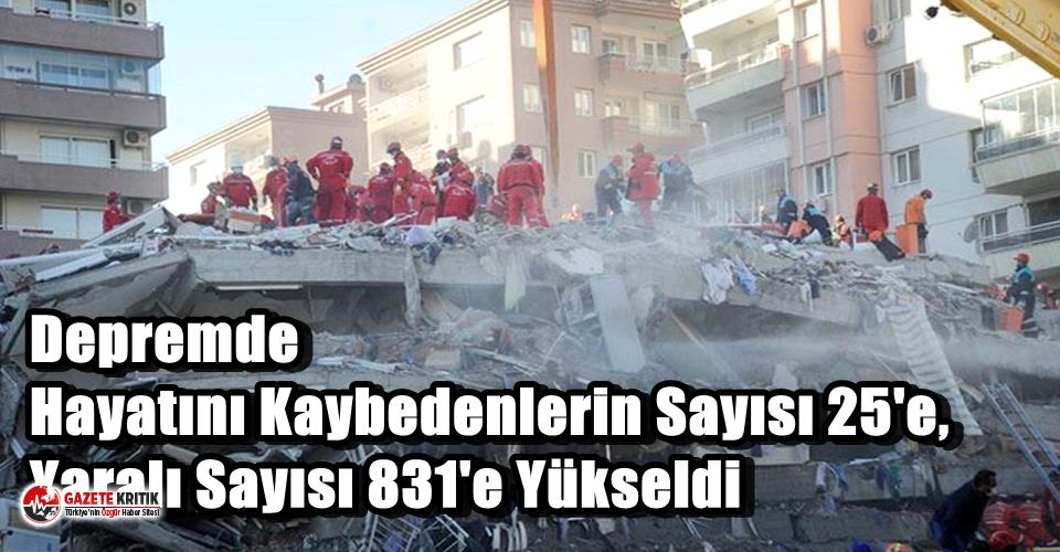 Depremde Hayatını Kaybedenlerin Sayısı 25'e,...