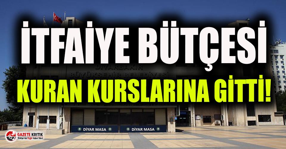 Diyarbakır'da kayyım itfaiye bütçesini Kuran...