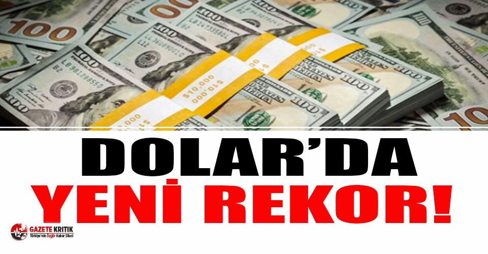 Dolar rekor üstüne rekor kırıyor!
