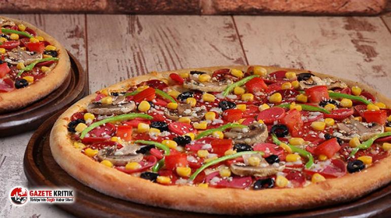 Dominos'tan pizza istedi, gelen ürün görenleri...