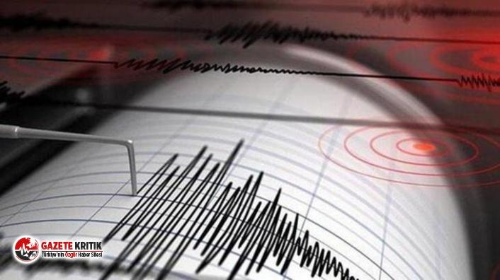 Ege açıklarında 5,0 büyüklüğünde deprem!