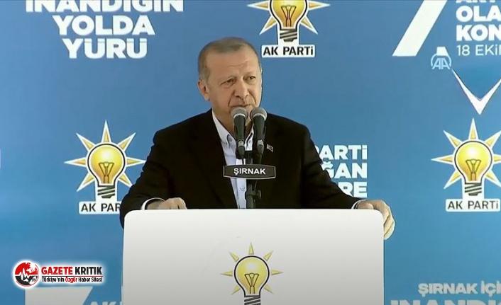 Erdoğan bir kez daha muhalefeti hedef aldı: Kapalı...