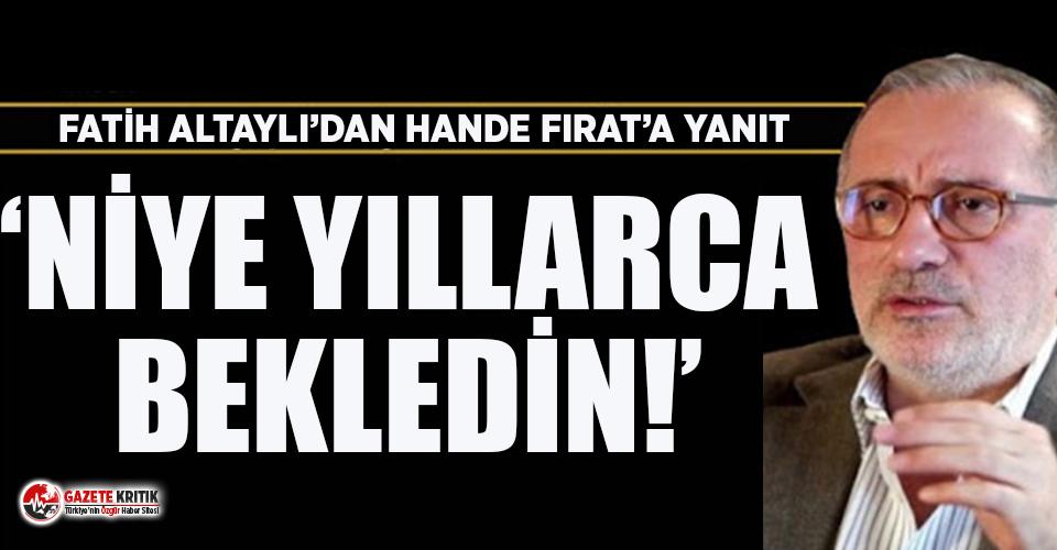 Fatih Altaylı'dan Emine Erdoğan'ın Hermes...