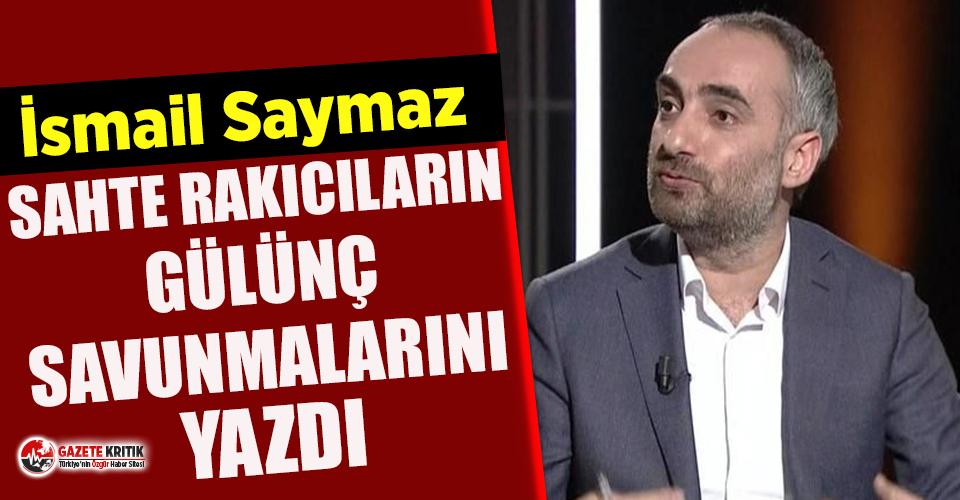 Gazeteci İsmail Saymaz, sahte rakıcıların gülünç...