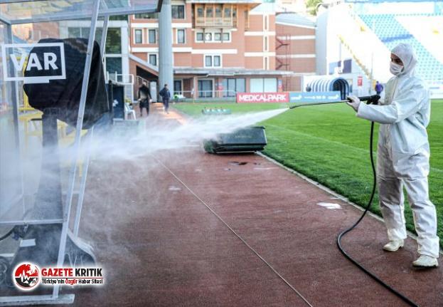 Göztepe ile karşılaşacak Kasımpaşa'da 2 futbolcunun koronavirüs testi pozitif çıktı