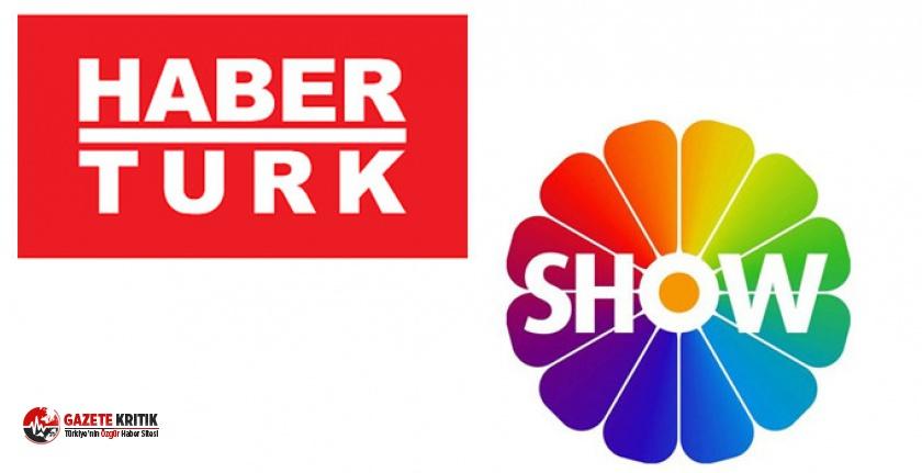 Habertürk ve Show TV'de korona paniği
