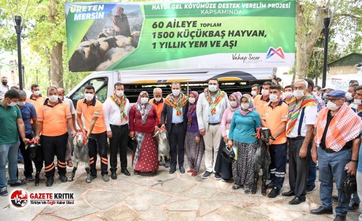 'Haydi Gel Köyümüze Destek Verelim Projesi'...