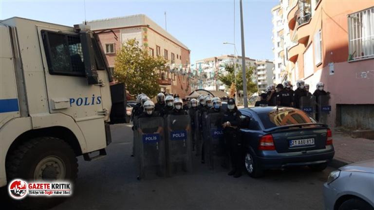 HDP Diyarbakır il binası ve Yenişehir İlçe binasına polis baskını: İki kişi gözaltına alındı
