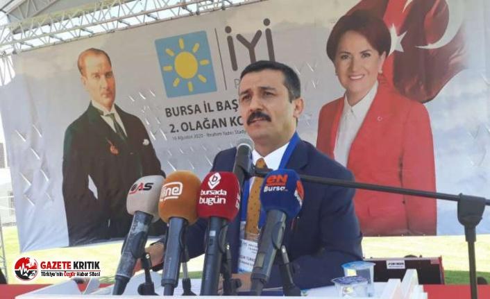 İYİ Parti'den Bursa'da Bakan Koca'ya kınama
