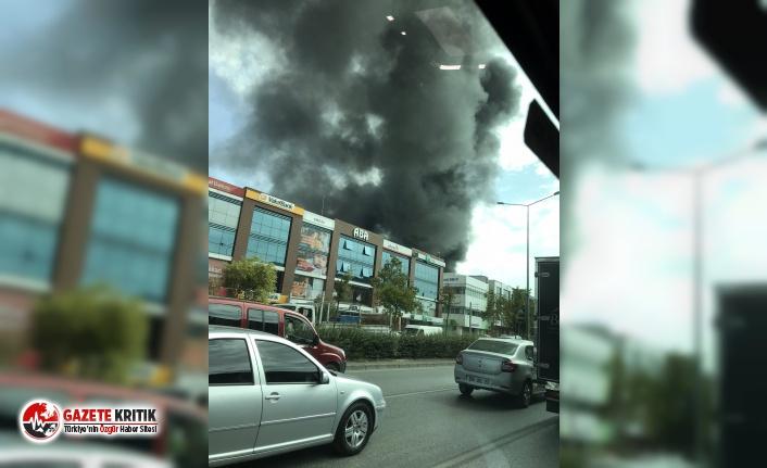 İzmir'de yangın!