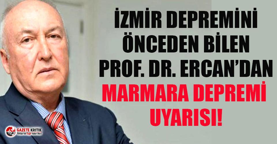 İzmir depremini tahmin eden Prof. Ahmet Ercan'dan...