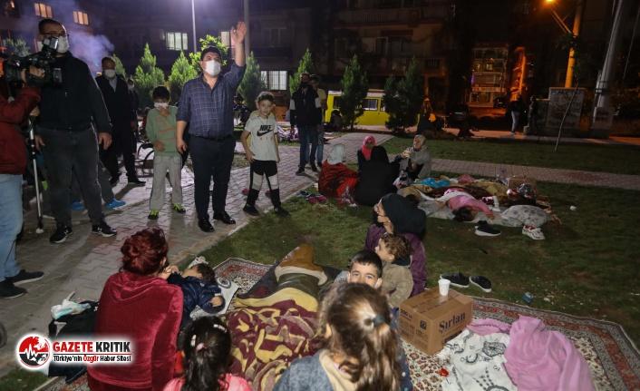 İzmir depreminin yaralarını sarmak için Buca Belediyesi...