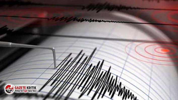 İzmir'de 3.6 büyüklüğünde deprem