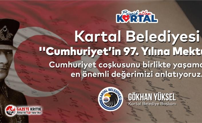 """Kartal Belediyesi'nden """"Cumhuriyet'in 97. Yılına..."""