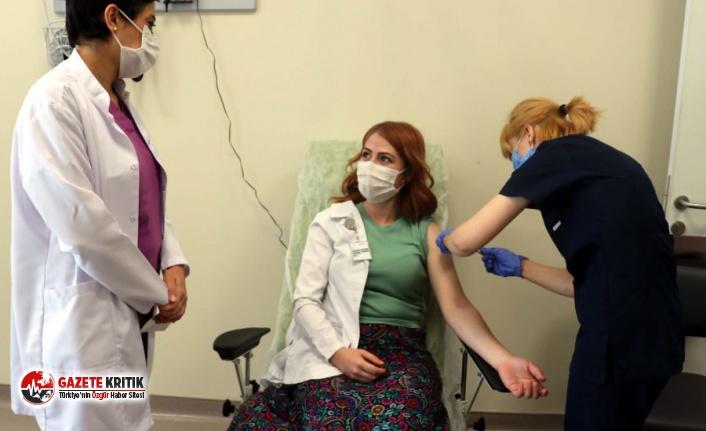 Kayseri'de gönüllü aşı çalışmaları başladı