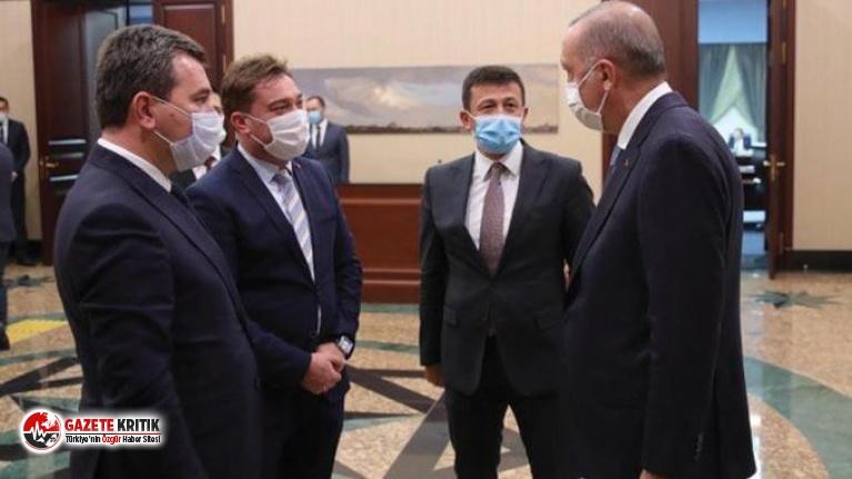Koronavirüse yakalanan AKP'li Hamza Dağ'ın  5 gün önce Erdoğan'ı ziyaret ettiği ortaya çıktı