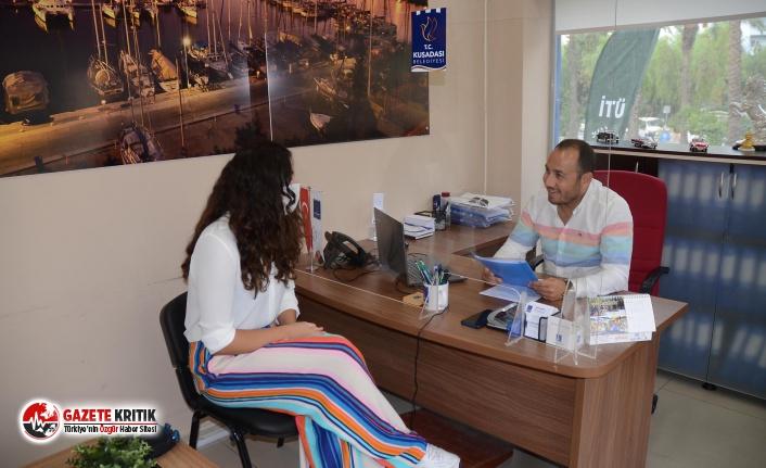 Kuşadası Belediyesi İş Arayanlara Umut Kapısı...